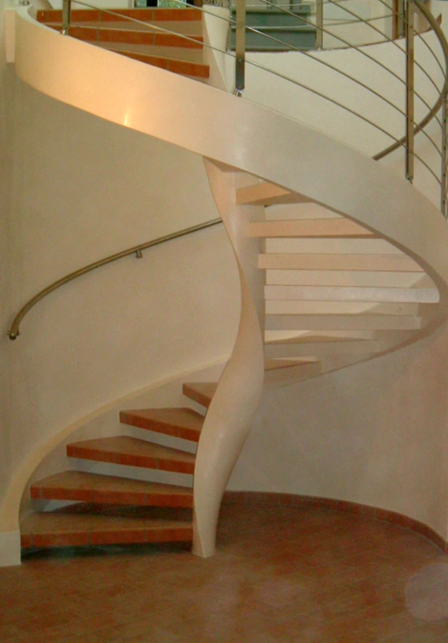 Elika helical staircase