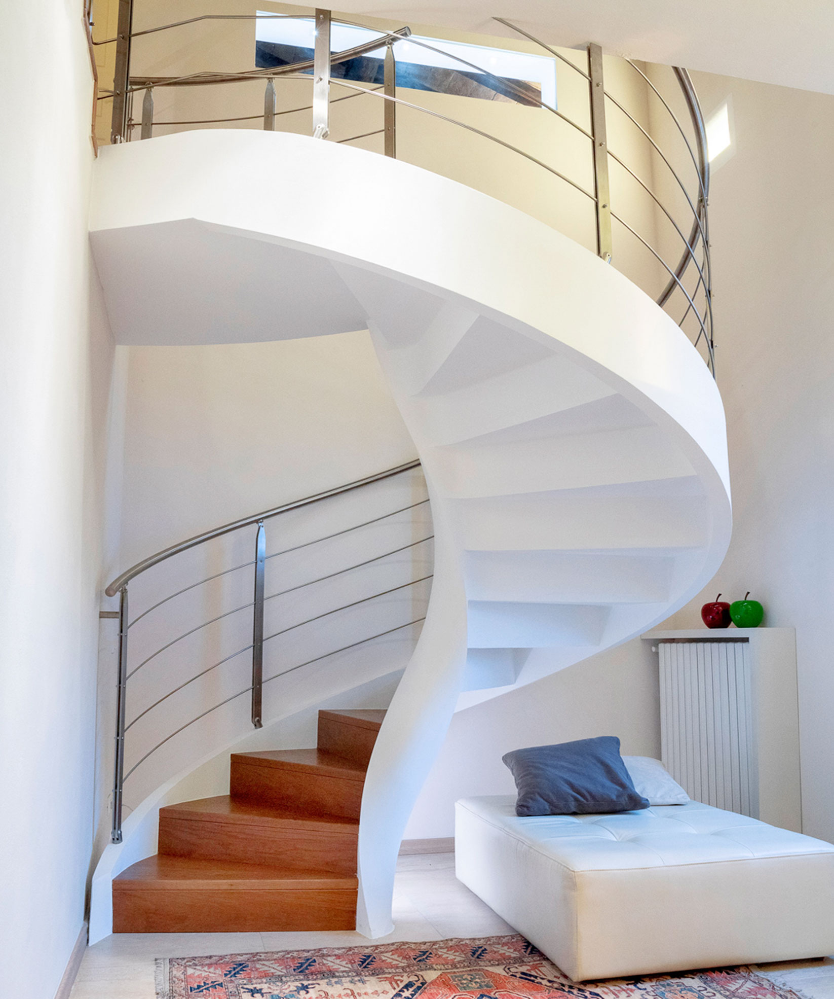 Artisan production of helical staircases